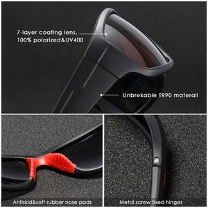 Image 5 - KDEAM Unbreakable TR90 ספורט משקפי שמש גברים מצוין חיצוני נהיגה משקפיים חליפת עבור כל פנים גווני KD712