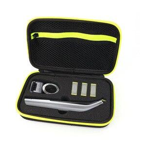 Image 2 - Housse de voyage Portable pour sac rigide pour Norelco OneBlade Pro Anti chute étanche pratique pour Philips rasoir boîte de rangement