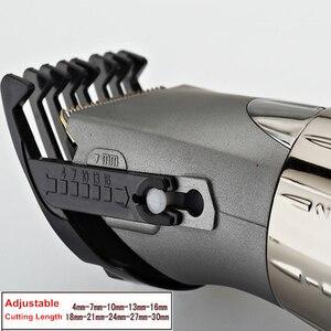 Image 5 - ใหม่ไฟฟ้าผม Clipper มีดโกนสำหรับผู้ชาย HC001 Cordless Beard Trimmer มีดโกนหนวดตัดเครื่อง 220V
