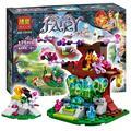175 pcs 2016 bela 10409 farran e o cristal oco modelo blocos de construção tijolos brinquedos para crianças compatível com lego elfos