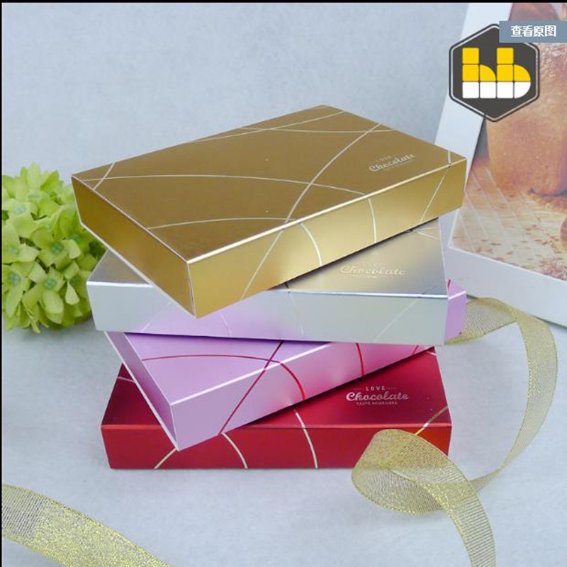 6 / 12pcs Chocolate Box/Chocolate Box / New Chocolate Gift Box /  Customizable Logo Free Shippping