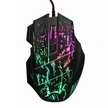 5500 Точек на дюйм USB проводной Мыши 7 Кнопки LED оптическая Gamer Мыши мыши компьютер компьютерная Mause игровой игровая Мыши для ПК компьютер Записные книжки