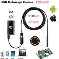 720P 8 мм 1/2/5/3,5 м Кабель для программирования в Водонепроницаемый HD WI-FI эндоскопических исследований Камера IOS и Android Мини Автомобильная камера...