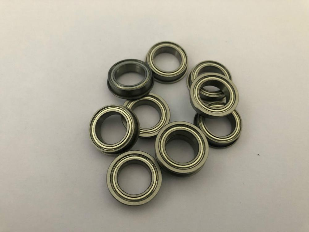 10pcs F682 F682-ZZ F682ZZ F682-2Z F682Z Zz Z 2z Flanged Flange Deep Groove Ball Bearings 2*5*2.3mm