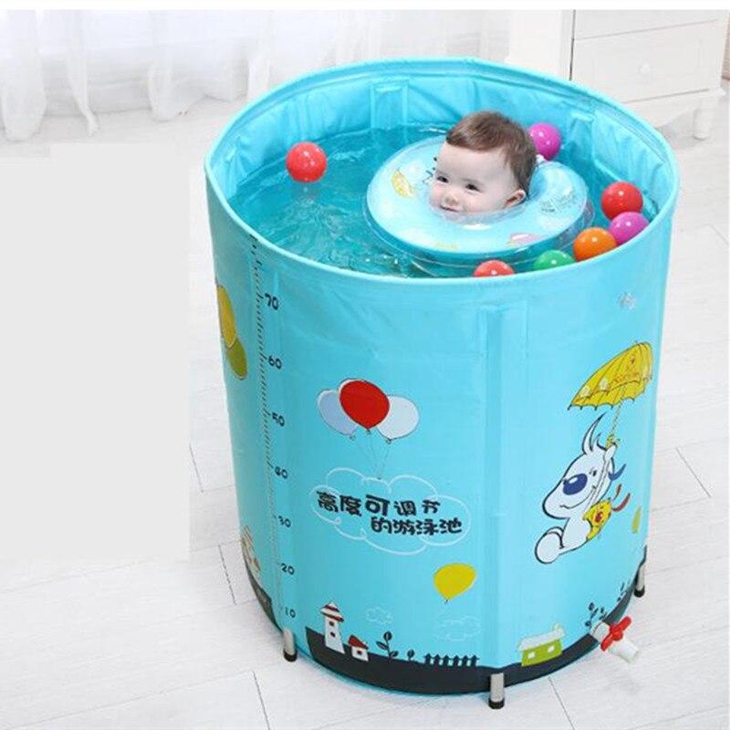 Isolation matelassée bébés réglables Piscine Piscina Piscine alliage Stent nourrissons et enfants bébé Piscine 4 saisons utilisation