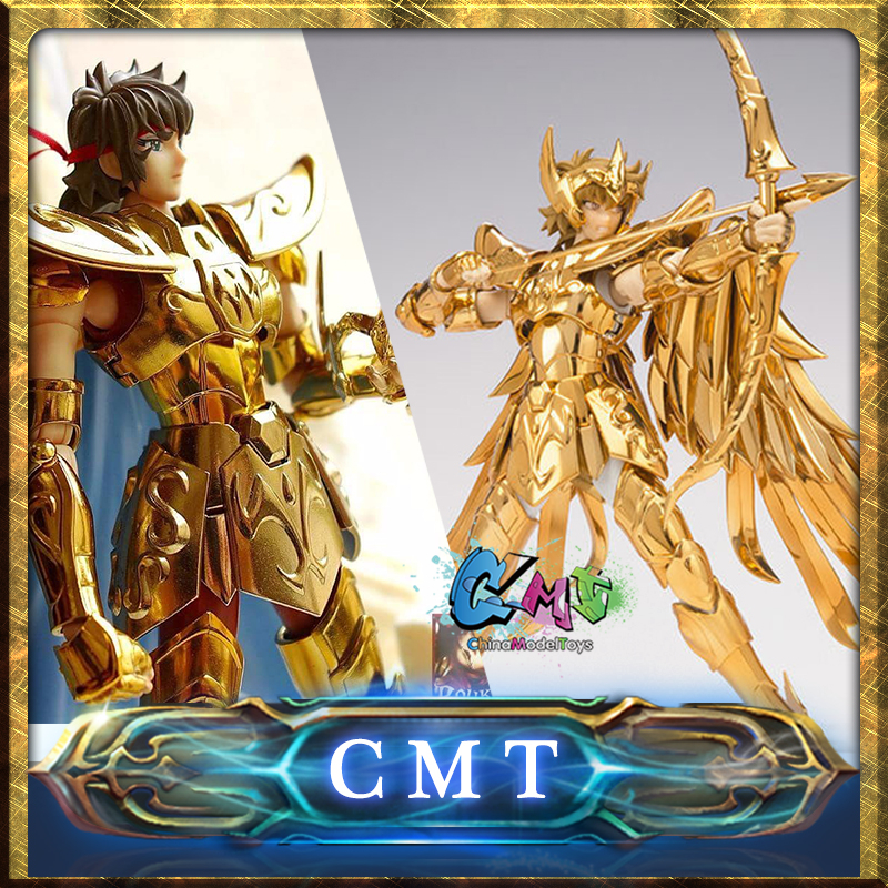 CMT Instock OCE \ Normal Version S-Temple Metal Club Sagittarius Aiolos Saint Seiya metal armor Myth Cloth Gold Ex Action Figure new arrival s temple model st taurus aldebaran saint seiya metal armor myth cloth gold ex action figure toy