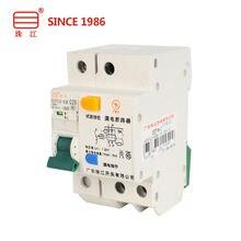 Миниатюрный автоматический выключатель dz47le 63b 32a 1p + n
