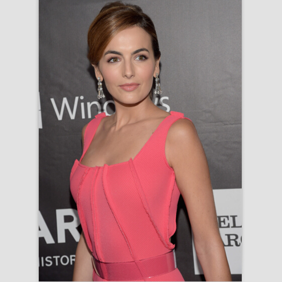 Camilla Belle watermelon gown 2014 amfAR LA Inspiration Gala Evening dress  Celebrity Dresses Red Carpet Gowns-in Celebrity-Inspired Dresses from  Weddings ... 26932ab16e10