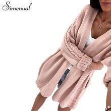 twist knitwear long cardigan