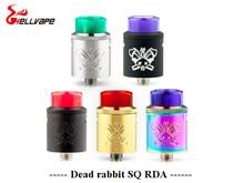 Новый цвет hellvape мертвый кролик BF sq BF RDA бак алюминиевый поддерживает один/двойной катушкой для электронное сигареты коробка mod