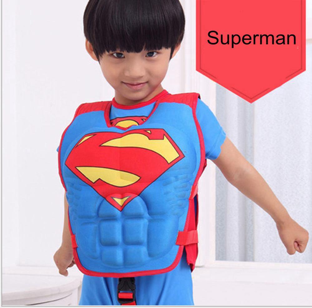 Kartun Anak Anak Baju Renang Pelampung Apung Superhero Untuk