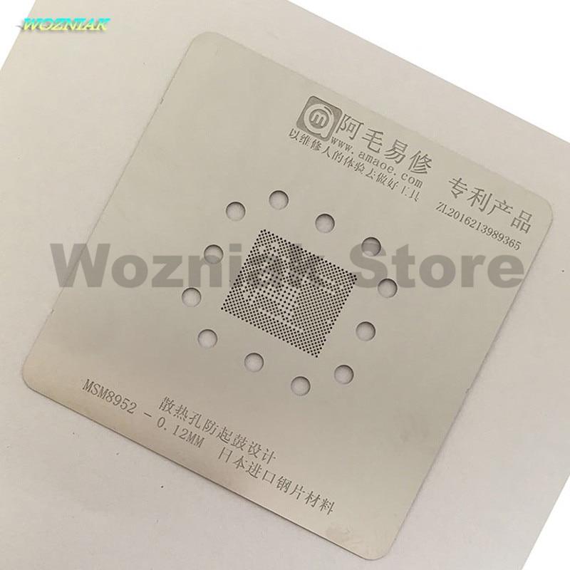 Wozniak Anti drum Tin net stainless Steel ne for MSM8952 MSM8973 MSM8976 MSM8956 MSM8992 MSM8994 MSM8996 Repair planting tinWozniak Anti drum Tin net stainless Steel ne for MSM8952 MSM8973 MSM8976 MSM8956 MSM8992 MSM8994 MSM8996 Repair planting tin