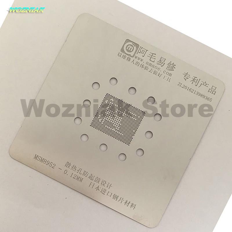 Wozniak Anti trommel Zinn net edelstahl ne für MSM8952 MSM8973 MSM8976 MSM8956 MSM8992 MSM8994 MSM8996 Reparatur pflanzen zinn