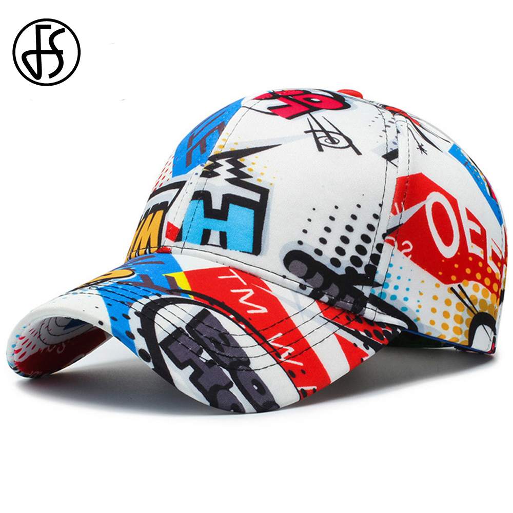 FS Women Men Letter Graffiti Hip Hop Cotton Ladies Face   Caps   Strangers Things Outdoor Soprt Cappellino   Baseball     Cap   Snapback Hat