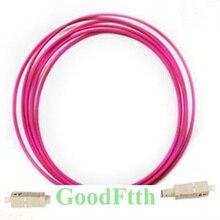 Fiber optik Patch kabloları SC SC OM4 Simplex GoodFtth 1 15m 6 adet/grup