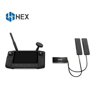 Sistema de transmisión de vídeo HERELINK HD BETA 2: herelink 2,4 GHz 20KM de largo alcance HD sistema de transmisión de vídeo dual HDMI 1080P 60fps