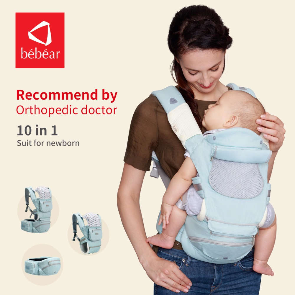 Bébéar nouveau siège pour hanche hipseat pour prévenir o-type jambes aviation en aluminium core porte-bébé Ergonomique manduca sac à dos sauvegarder effort kid sling