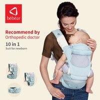 Bebear New Hipseat For Prevent O Type Legs Aviation Aluminum Core Ergonomic Baby Carriers Manduca Backpack