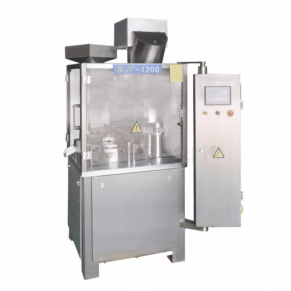 Automatic Capsule Filling Machine, NJP-1200C Capsule Filling Device (110V 60HZ or 220V 50HZ)
