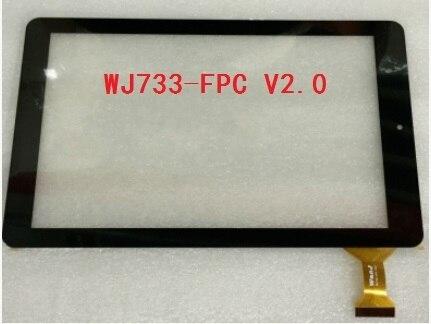Novo original de 10.1 polegada hi8 tela de toque capacitivo tablet WJ733-FPC V2.0 frete grátis