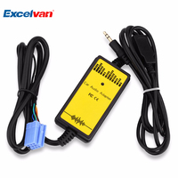 Car CD Adapter MP3 Audio Interface AUX USB SD Mini 8P Connect CD Changer For VW