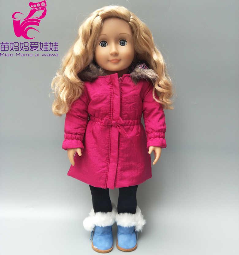 """Кукла зимнее пальто комплект для 43 см кукла пуховик 18 """"Девочка Кукла Одежда и брюки комплект"""