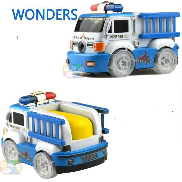 Coche de juguete para niños El camión de bomberos eléctrico equipo de rescate ur
