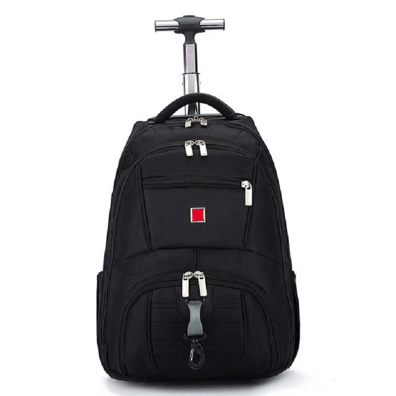 Shoulders Travel Bag 18 inch Student Rolling Luggage Backpack Business Trolley Large Capacity Cabin Suitcases Wheel