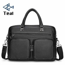купить 2019 New Designer Men's Briefcase Satchel Bags For Men Business Fashion Messenger Bag 14' Laptop Bag shoulder bags male по цене 2034.72 рублей