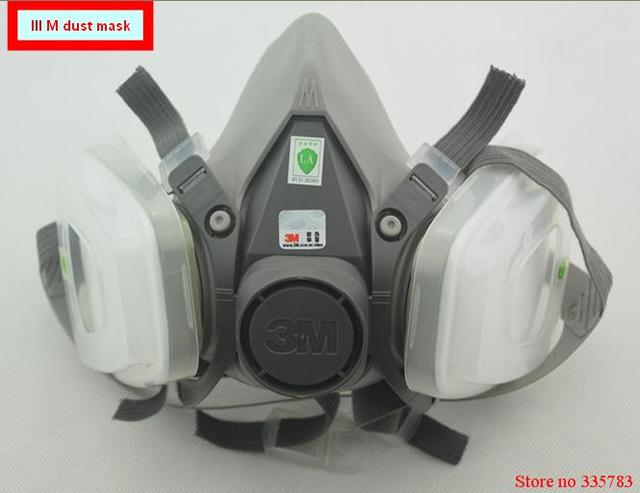 IIIM 6200+6200+5N11+603 dust mask High quality PM2.5 respirator dust mask dust antivirus dual-purpose respirator mask