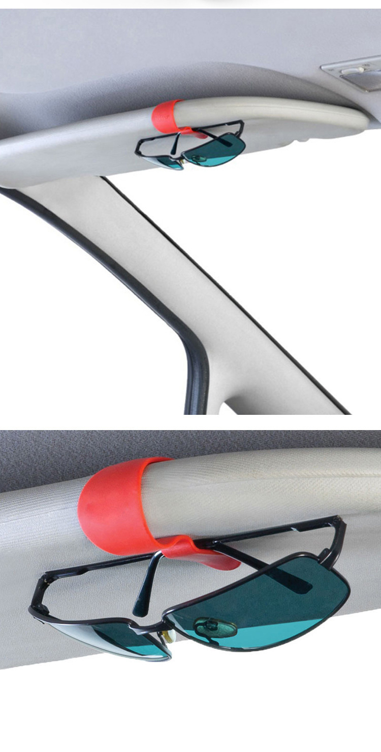 Auto Visor Car Vehicle Accessories Glasses Sunglasses Card Pen Hang Clip Holder