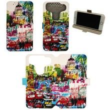 Universal Phone Cover Case for Spice Mobile X-Life 520 Hd Case Custom images LD