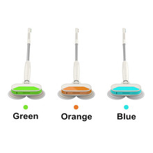 Free shipping wireless multifunction mopping machine with double-wheel, waxing, one-button water spray, LED light.