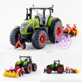 Siku 1:32/Diecast Toy Model/Claas Axion 950 Tractor and Ploughing Machine/For Children's Gift/Educational/Collection/Big
