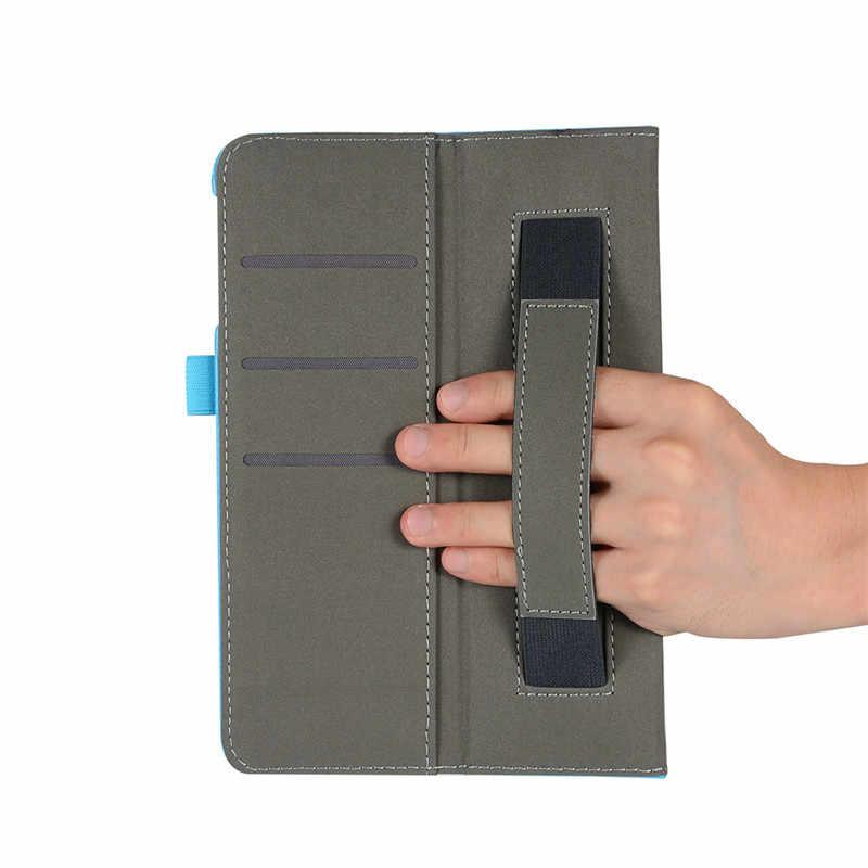 Coque Para iPad Mini 1/2/3/4 Inteligente Flip Fique Tablet PU Caso Capa de Couro Para apple iPad Mini 1/2/3/4 Wake Up/Função do Sono