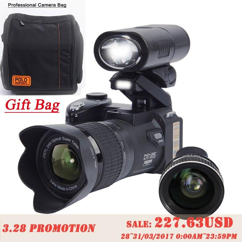 PROTAX D7300 digital font b cameras b font 33MP Professional DSLR font b cameras b font