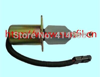 Manufacturer Stop Solenoid Valve 3990773 SA-4932-24 for 24V,3PCS/LOT stop solenoid sa 4899 24 sa 4899 1756es 24sulb1s5 24v 3pcs lot