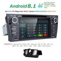 1 din gps автомобильный радиоприёмник Android 8,1 Автомобильный DVD плеер для BMW E90 E91 E92 E93 (2006 2012) Мультимедиа gps навигации 4G WI FI BT SWC RDS