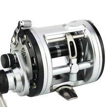 Fishing reel YUMOSHI JCA200/300/400/500 Cast Drum Wheel 12+1 Ball Bearings Bait Casting Reel Carretilhas gear