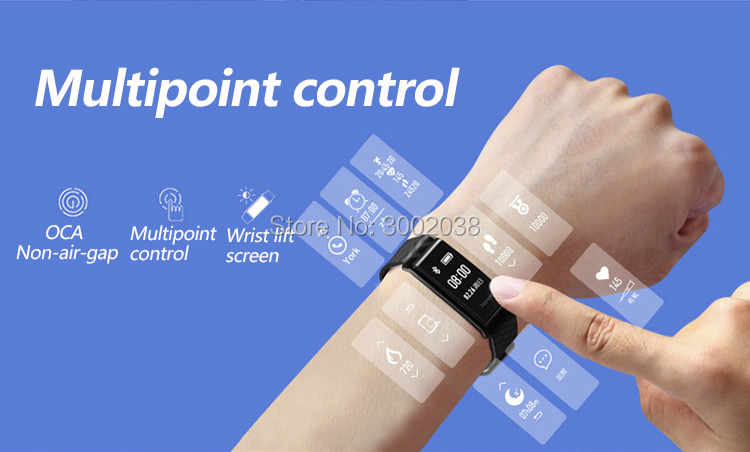 New original HUAWEI glory Glory play Bracelet A2 Running time, exercise, heart rate monitoring For Android xiaomi Bracelet 2 IOS 3
