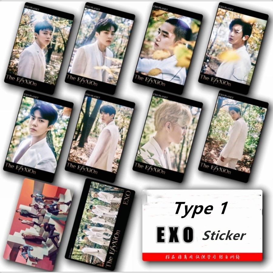 2019 Latest Design Kpop Exo Planet # 4 Photo Card Sticker Chanyeol Baekhyun Sticky Photocard Poster 10pcs Agreeable Sweetness Jewelry & Accessories