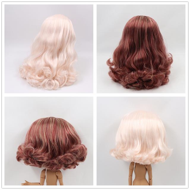 Neo Blythe Doll Scalp & Dome Wigs