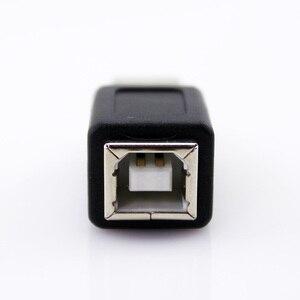 Image 4 - 2 teile/los USB 2.0 Typ A Buchse Auf Typ B Männlich USB Drucker Adapter Koppler Kabel Konverter Stecker USB 2.0 Männlichen Adapter kabel