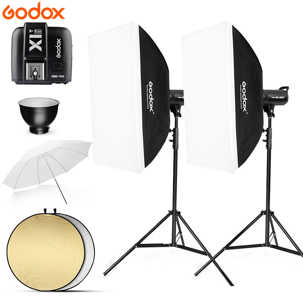 800Ws Godox SK400 II 2x 400Ws Photo Studio Flash Lighting,Softbox,280cm Light Stand,soft umbrella,Flash built-in Receivers 800Ws Godox SK400 II 2x 400Ws Photo Studio Flash Lighting,Softbox,280cm Light Stand,soft umbrella,Flash built-in Receivers