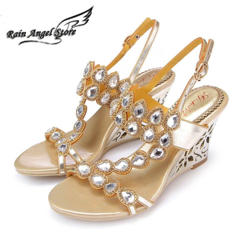 Online Buy Wholesale Bridal Wedge Sandal From China Bridal