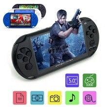 5 Дюймов Большой ЖК-Экран Coolbaby X9 Ностальгические 8 Г Ручной Ретро Игровой Консоли Видео Mp3-плеер для GBA/РЭШ игры