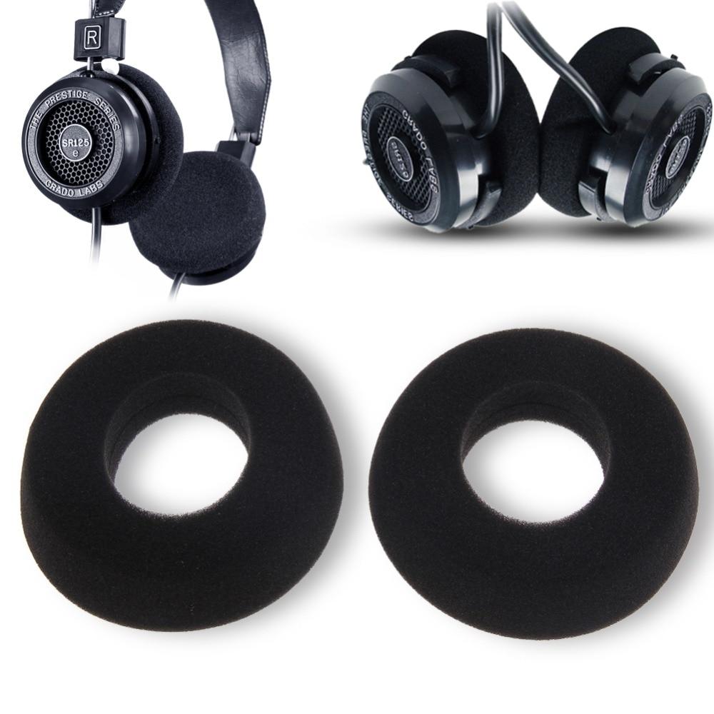 1 Pair Replacement Ear Pad Cushions Leather Headphones Earpads Ear Pads Cushions for GRADO SR60 SR80 SR125 SR225