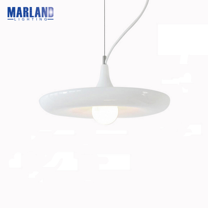 Modern Pendant Lamps Without PlantLED Painted Aluminum White Dining Room Light Chandelier LightsD5099