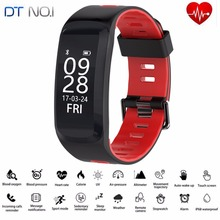 Original No.1 F4 Smart Bracelet IP68 Blood Pressure Blood Oxygen Heart Rate Bluetooth4.0 Sport Fitness Wristband For IOS Android