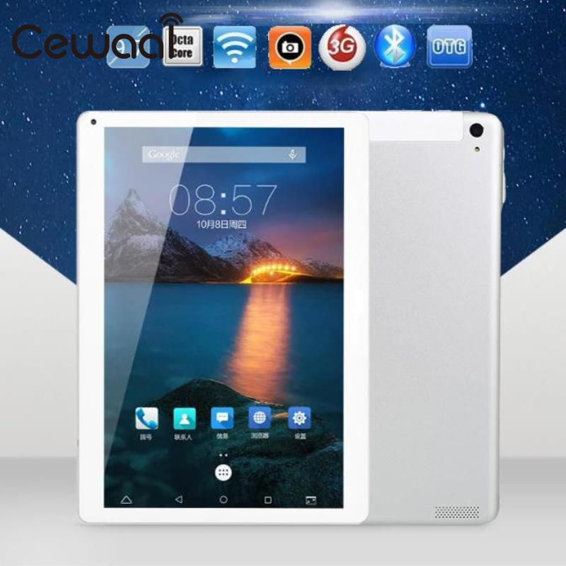 CEWAAL 9.7 inch Octa Core Android Tablet PC Tab Pad IPS Dual SIM Card Android 5.1 3G GSM Phablet  WIFI Tablet PC 1+32GB US Plug created x8s 8 ips octa core android 4 4 3g tablet pc w 1gb ram 16gb rom dual sim uk plug